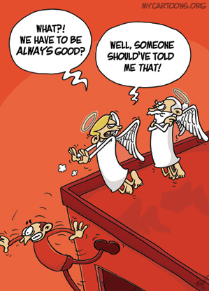 cartoon  2009 01 26 angel outrage