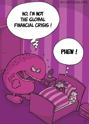 cartoon  2009 02 02 monster crisis