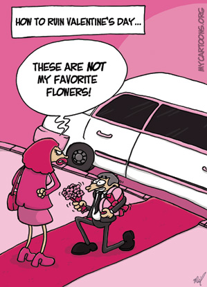 cartoon  2009 02 11 valentine disaster