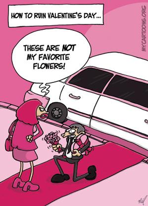 cartoon  2009 02 11 valentine disaster