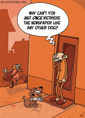 cartoon  2009 03 06 dog spleen
