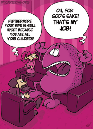 cartoon  2009 03 11 monster problem