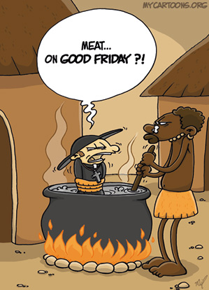 cartoon  2009 04 10 good friday