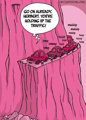 cartoon  2009 07 03 mountain ride