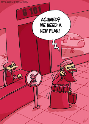 cartoon  2009 09 11 change of plans