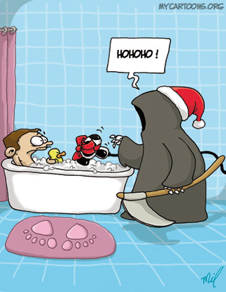 cartoon  2007 12 24 christmas death