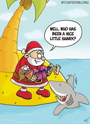 cartoon  2007 12 17 island christmas