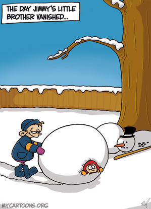 cartoon  2007 12 12 snow